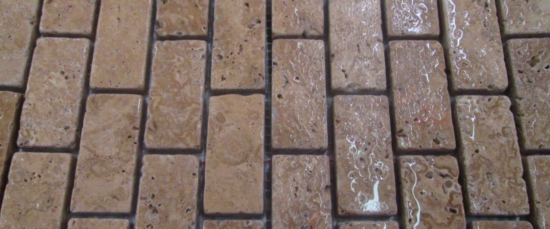 Travertine 12x1x2 Noce