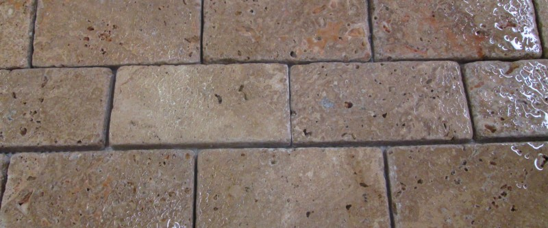 Travertine 12x2x4 Noce