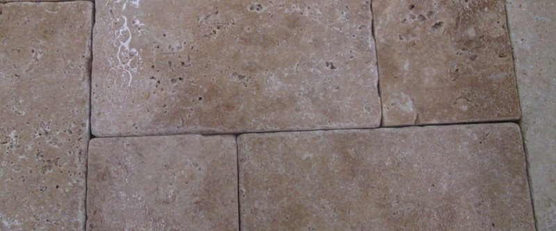 Travertine 8x8 Walnut