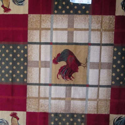 8 x 11 Rooster Area Rug
