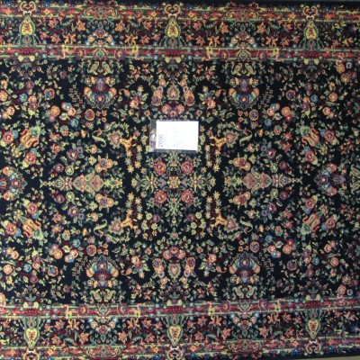 5 x 8 Traditional Blue Area Rug