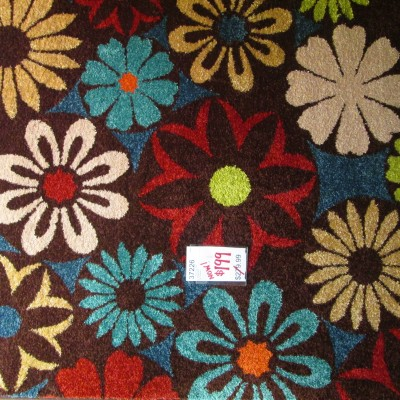 5 x 8 Flowers Multi Area Rug