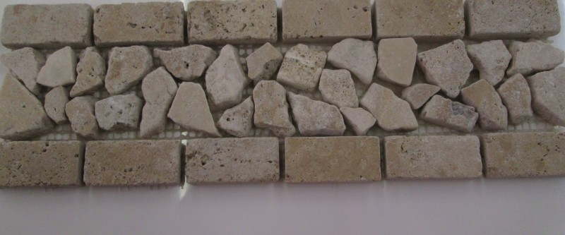Travertine Palledian Border Light