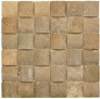 Travertine 12x2x2 Uneven Mosaic Noce