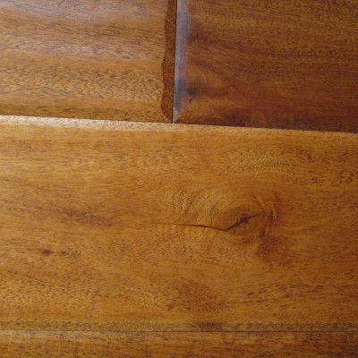 Cherry Hand Scraped Solid Hardwood