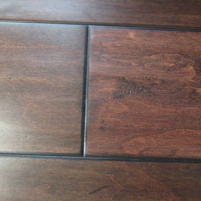 Southwest Hand Scraped Orleans Maple Hardwood