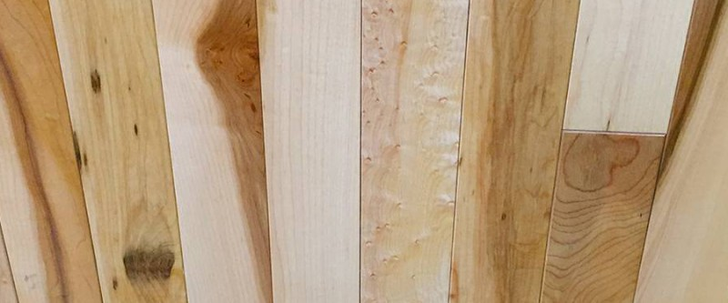 Maple Natural Hardwood 2 1/4 inch