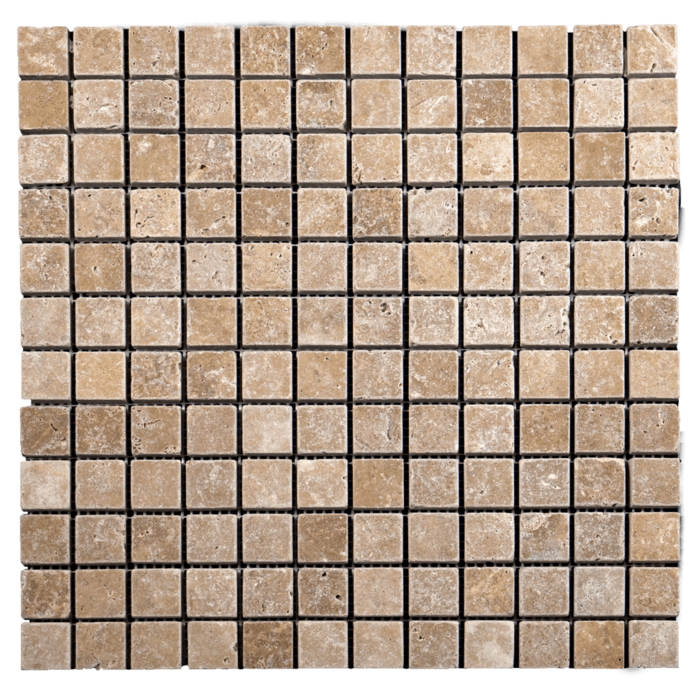 1x1 Noche Travertine Tumbled