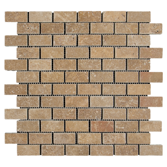 1x2 Noche Travertine Tumbled