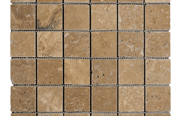 2x2 Noche Travertine Tumbled